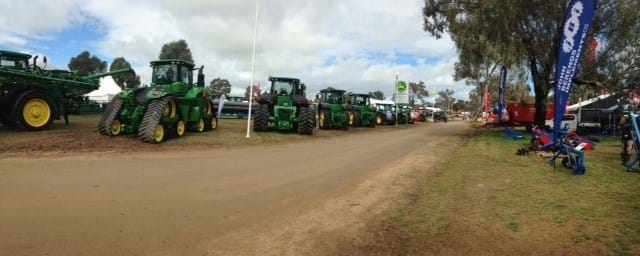 Early Morning Henty Field Days